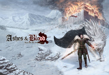 Ashes and blood_cover by chrisnfy85