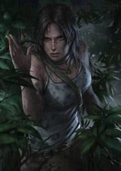 Lara Croft Reborn Contest Entry by chrisnfy85