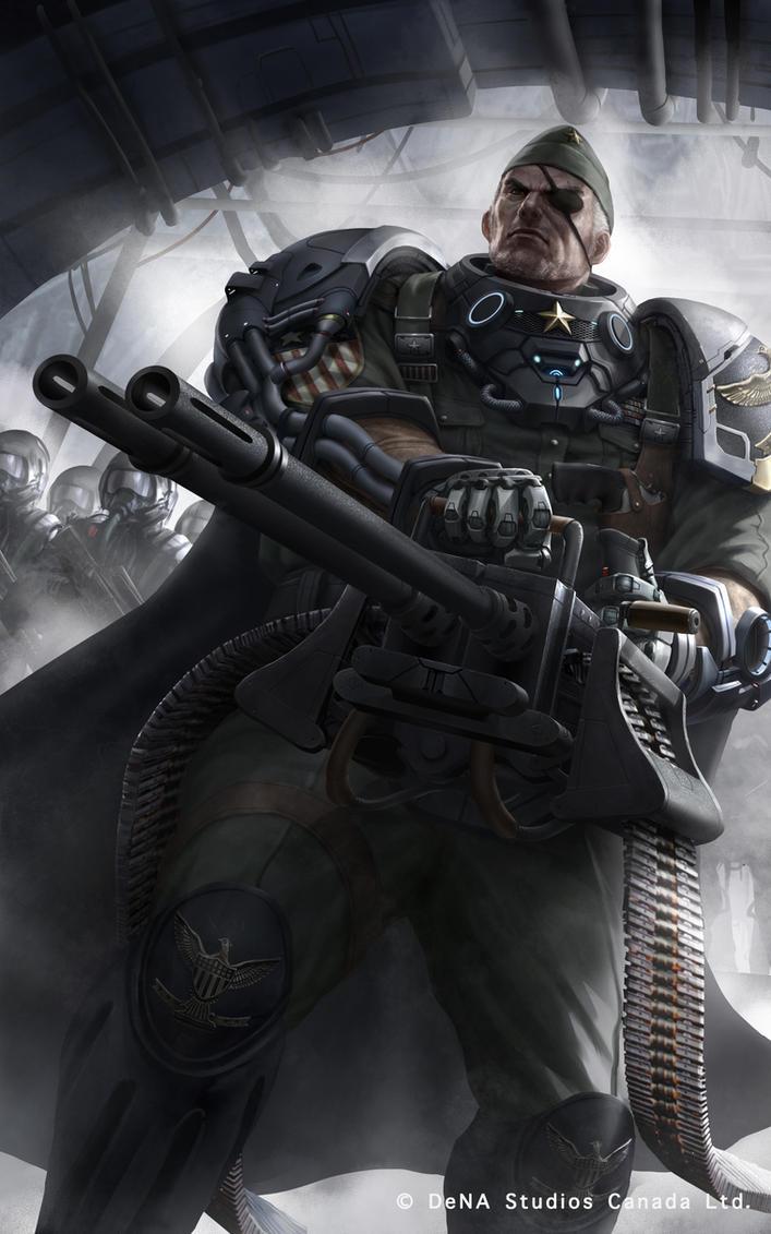 lawman SR Male Guy Barrett Regular by chrisnfy85