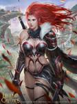 The lone woman warrior_Regular