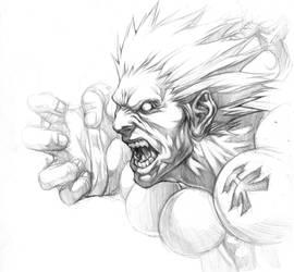 AKUMA sketch by chrisnfy85