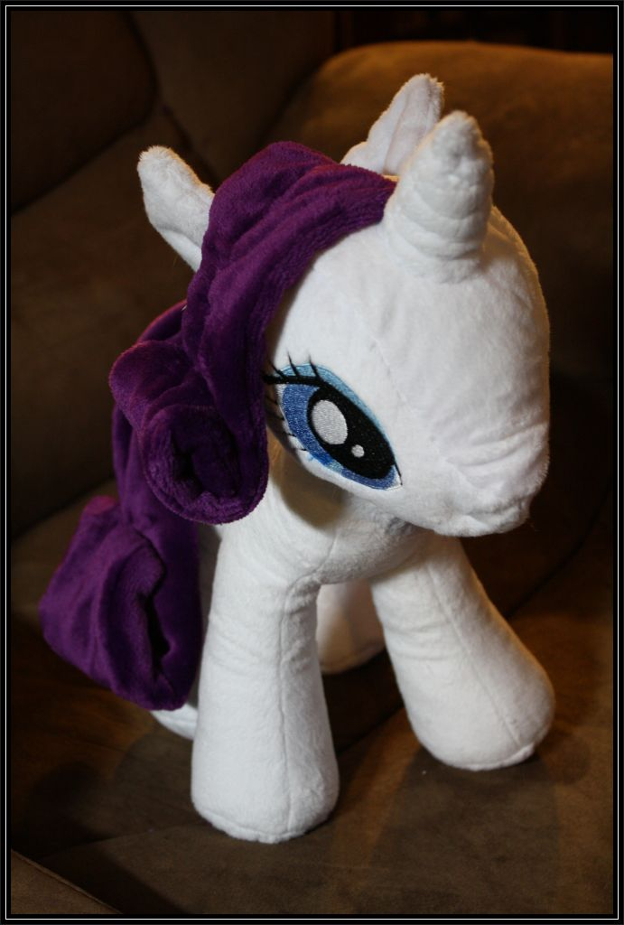 Rarity plush, complete! by takysa