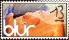 Blur 13 stamp by Welniak
