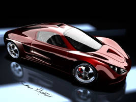 concept car ,Virtuosity by pedramr