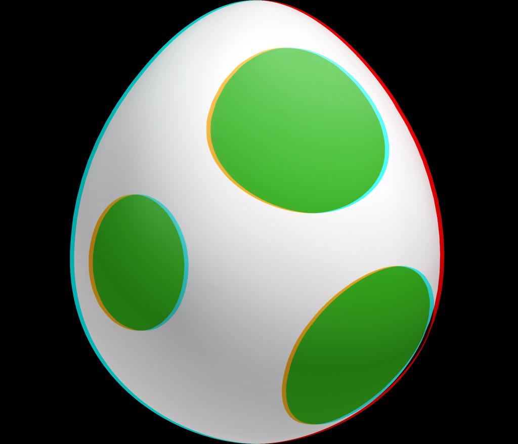 3d Yoshi Egg By Koopshikinggeoshi On Deviantart