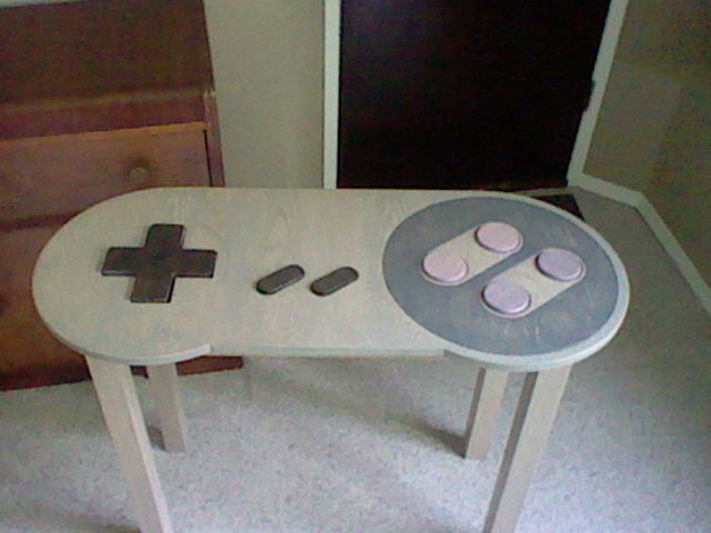 Controller Coffee Table.Snes Controller Coffee Table By Koopshikinggeoshi On Deviantart
