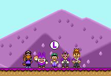Luigi likes Purple? by KoopshiKingGeoshi
