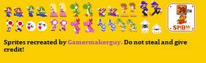 Mario Party 8 Bitsize Sprites V 1.1