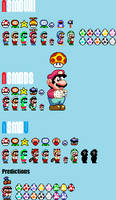 Every Power Up of Newer Super Mario Bros. by KoopshiKingGeoshi