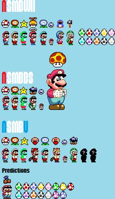 Every Power Up Of Newer Super Mario Bros By Koopshikinggeoshi On