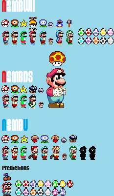 Every Power Up of Newer Super Mario Bros  by