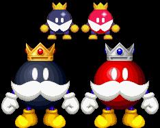 King Bob-omb Buddy (aka Red King Bob-omb) by KoopshiKingGeoshi
