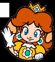 SM3DW: Daisy's Live Icon by KoopshiKingGeoshi