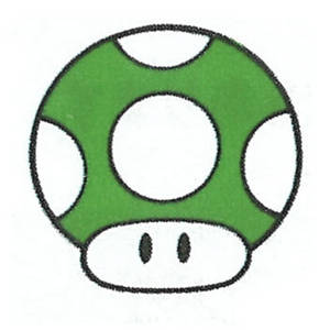 1UP Mushroom SML2: DX Artwork