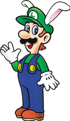 Bunny Luigi SML2: DX