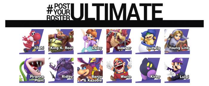 My Smash Ultimate Mains