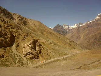 Los Andes mountains by Kalosys-stock