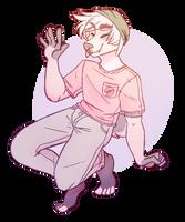 Pastel Boi (AT: oakbean) by paranoid-possum