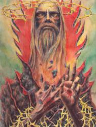 Jesus Antichrist REDUK by disorderart