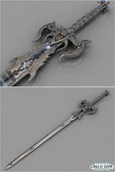 Longsword of the Dark Templar by Soulflame81