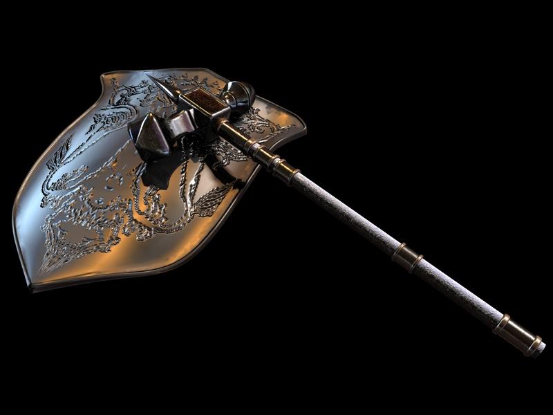 Warhammer and Shield