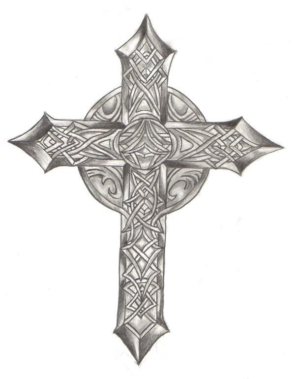 Celtic cross by anglpunk11 on deviantart celtic cross by anglpunk11 voltagebd Images