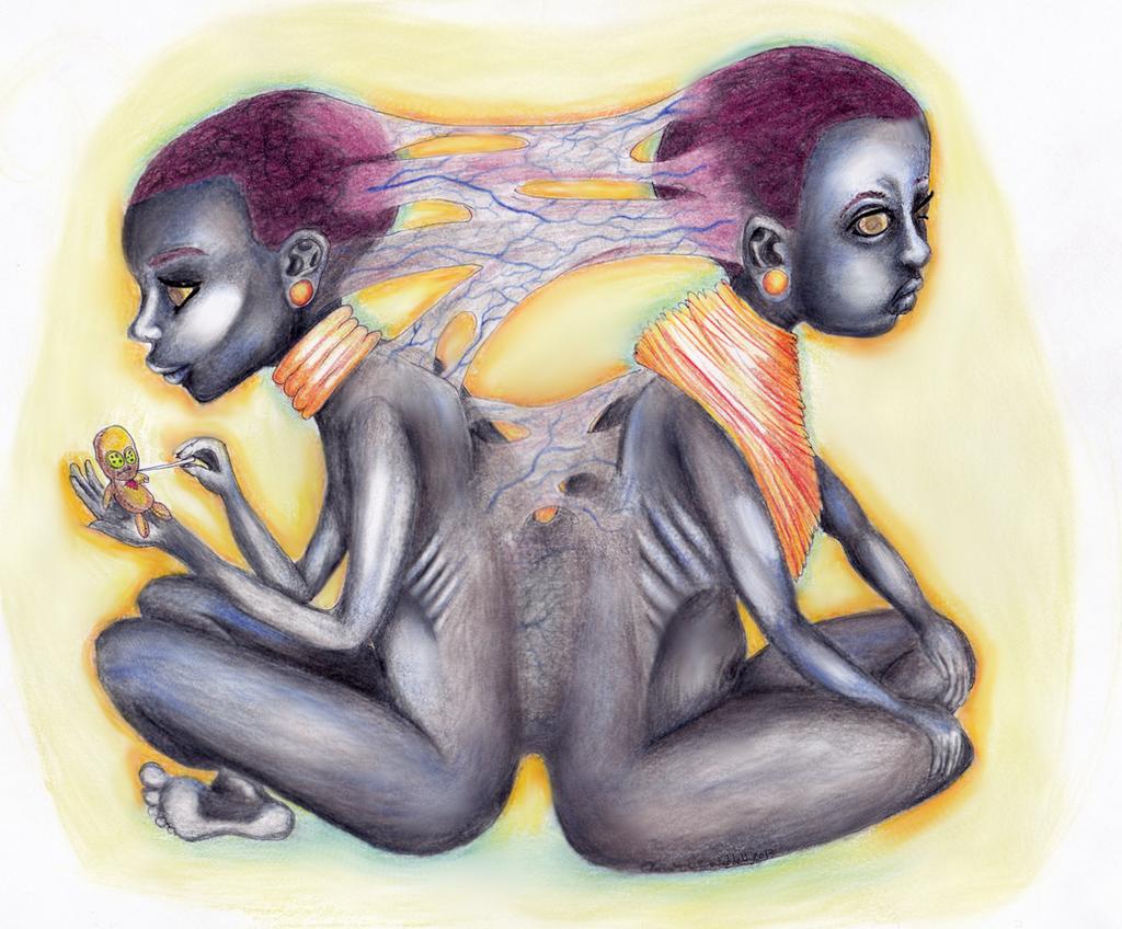 Marassa Jumeaux, the Divine Twins by Ryvienna