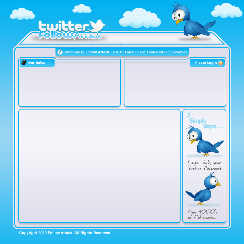 Twitter Template Twitter train template by