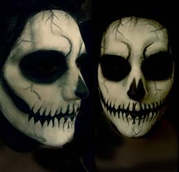 Nightmare Skull by robeoftheheavens