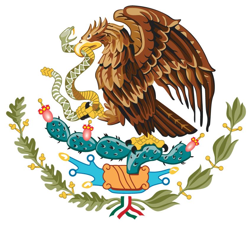 escudo nacional Mexicano by radikian