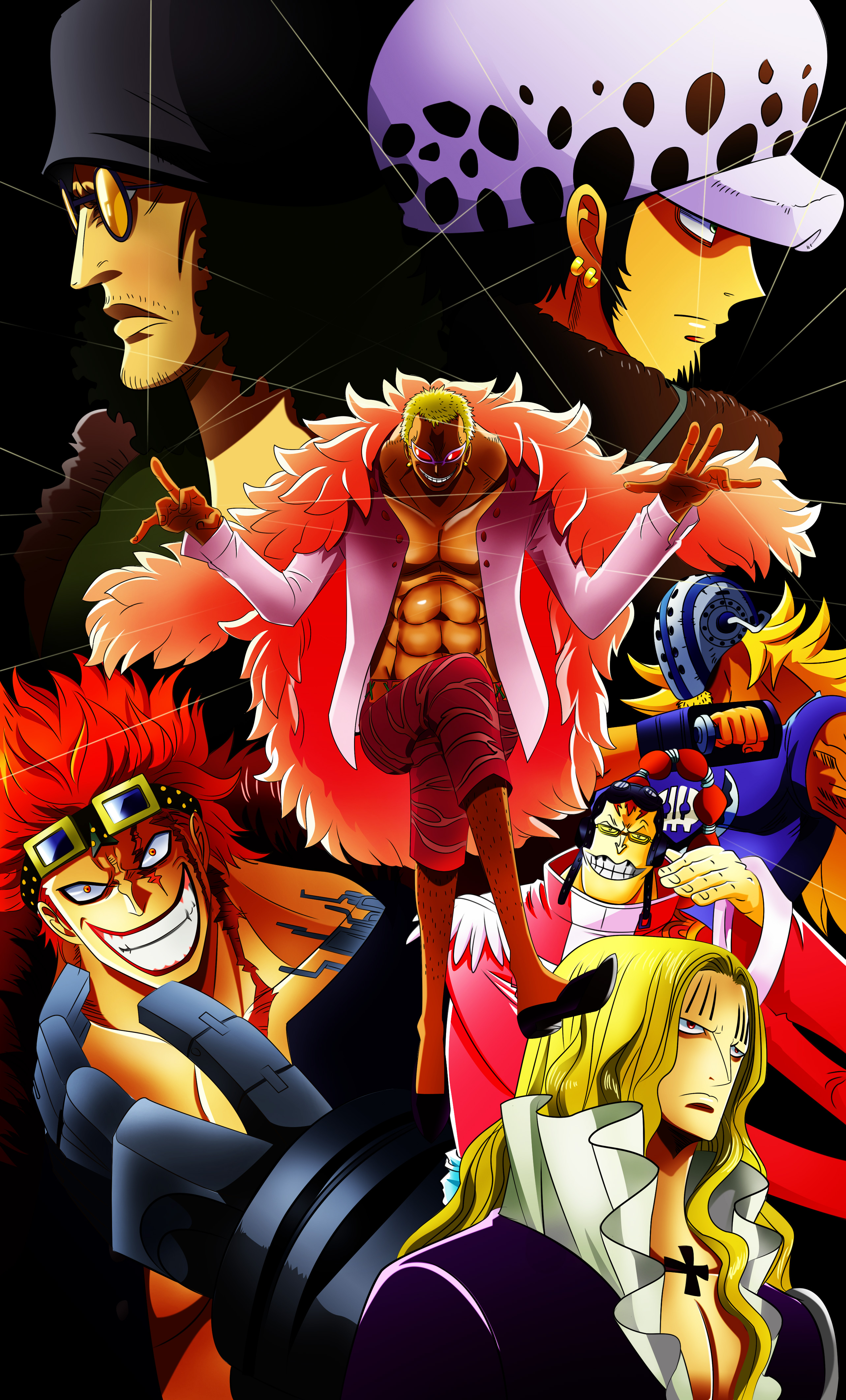 one piece poster by thebartrempillo on deviantart. Black Bedroom Furniture Sets. Home Design Ideas