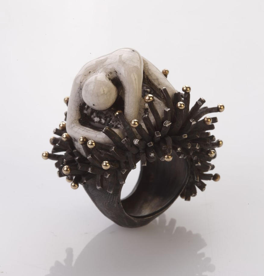 Simple Man Ring by Selda Okutan by SeldaOkutan