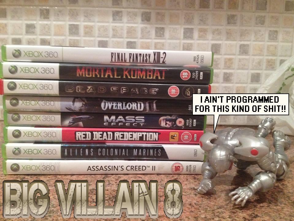 Preowned Experiment: Big Villain 8 by RandomDC3