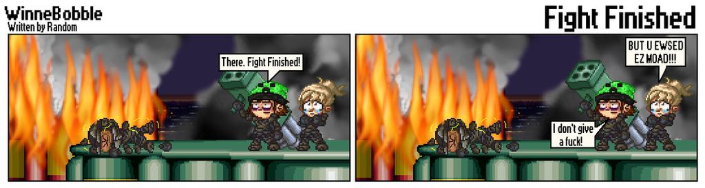 482 - Fight Finished by RandomDC3