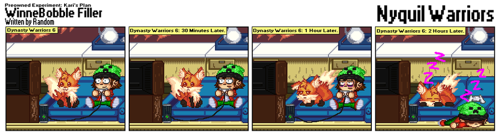 602 - Nyquil Warriors by RandomDC3