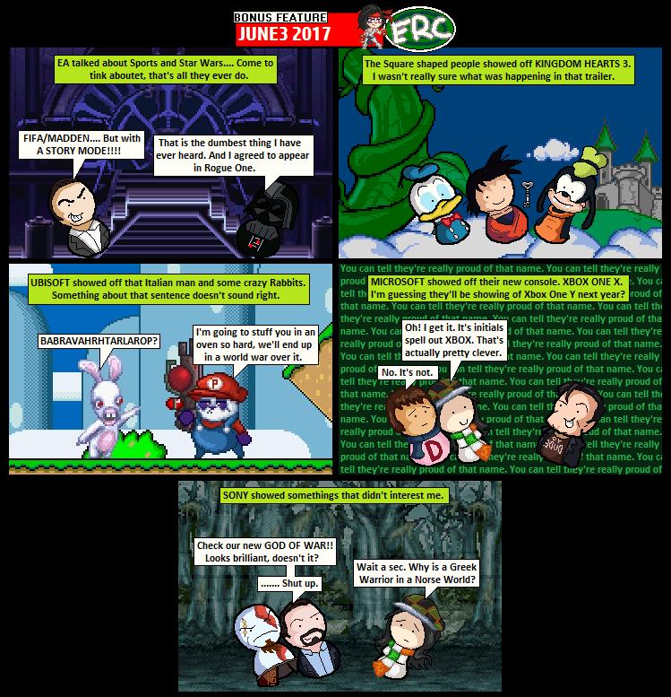 Jessica June - E3 2017 by RandomDC3