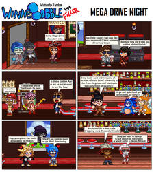 992 - Mega Drive Night by RandomDC3