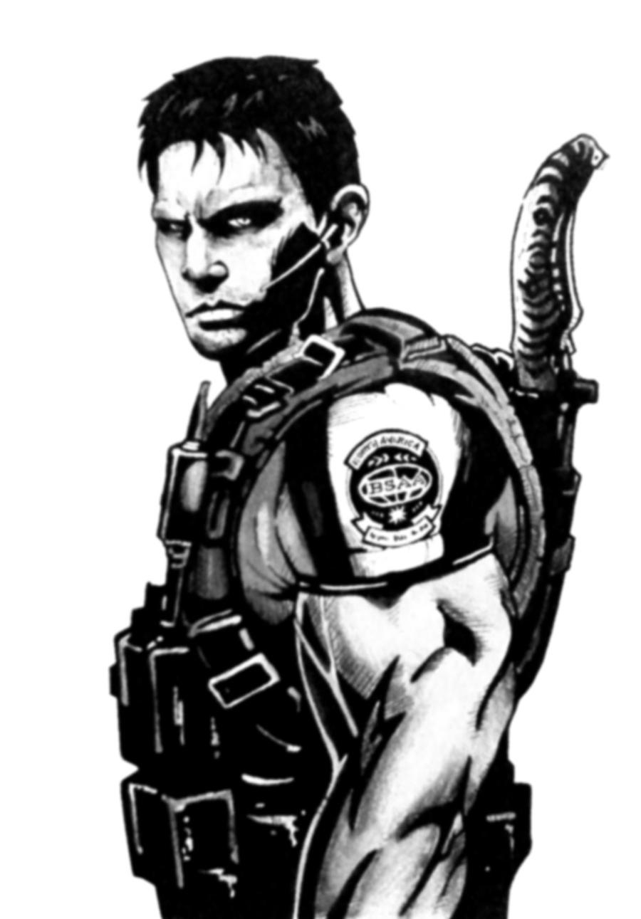 RE:ABYSS fan fiction Chris_redfield_by_campionistudio