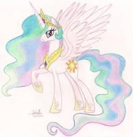 Princess Celestia by SoulSliver249