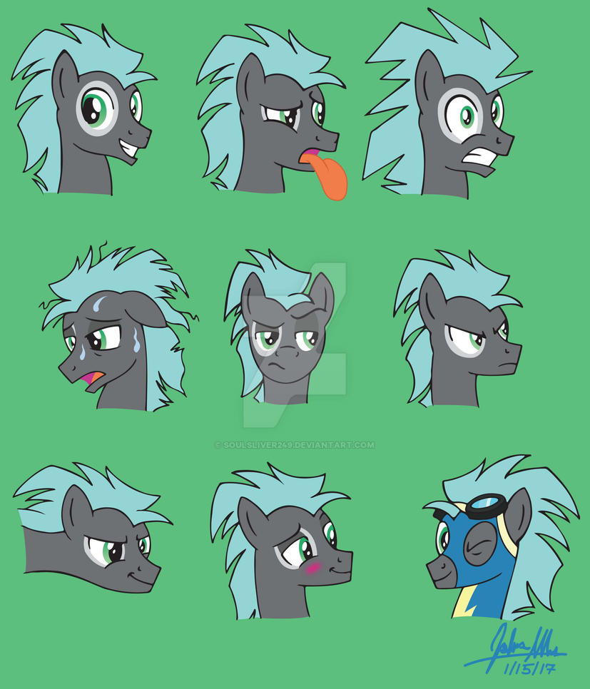 The Many Faces of: Typhoon by SoulSliver249