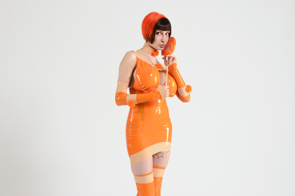 Orange Crush by Ariane-Saint-Amour