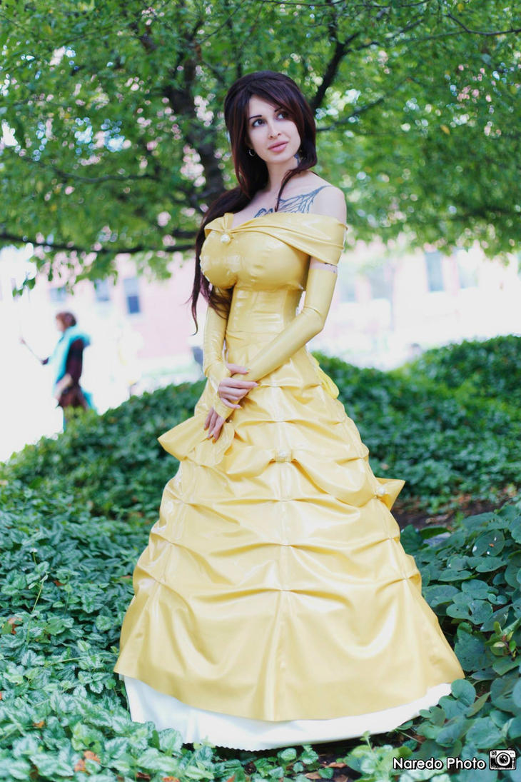 ariane saint amour cosplay Belle 2 by Ariane-Saint-Amour