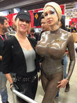 Seven of Nine at montreal Comiccon!