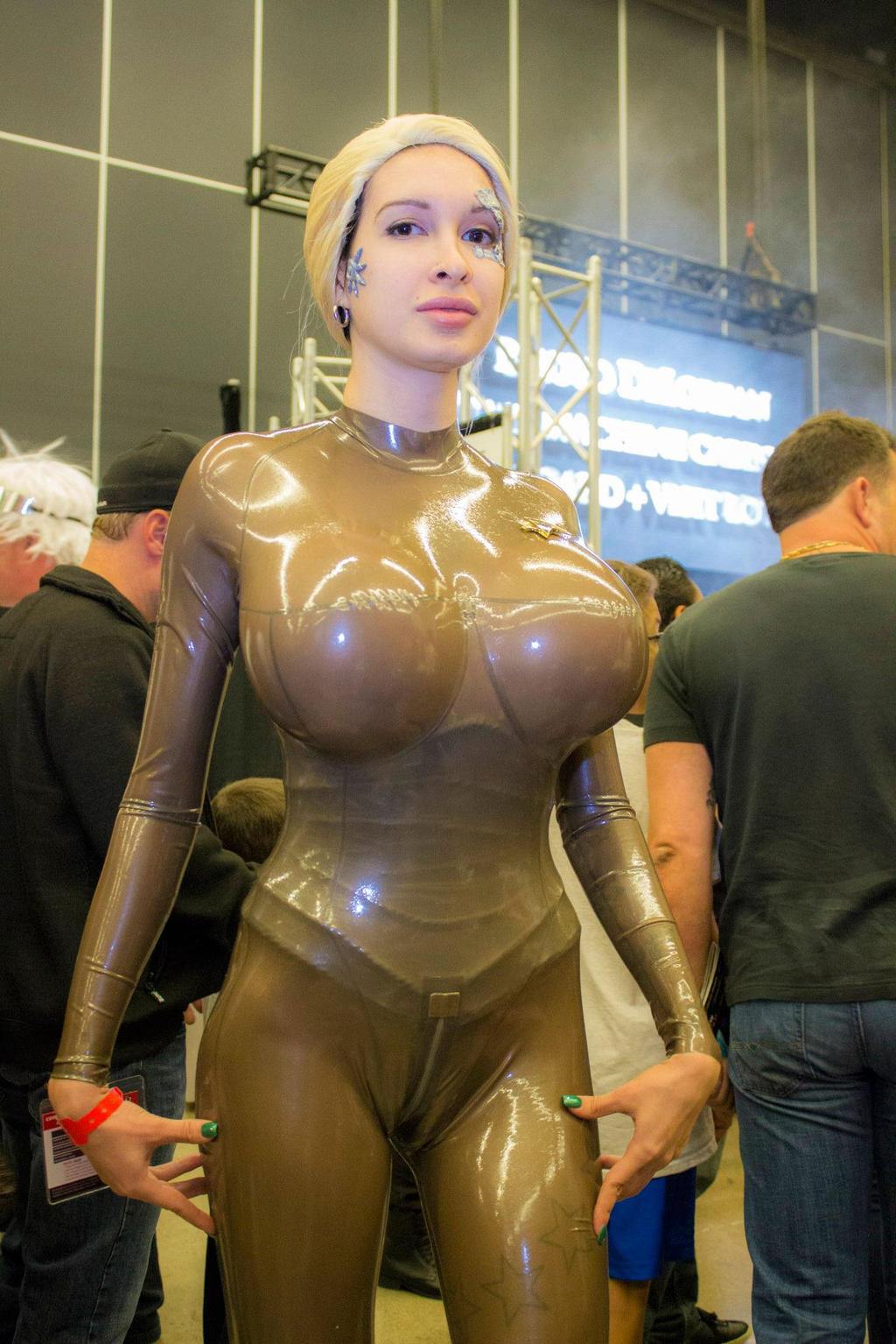 Can look star trek cosplay sexy big boobs know one