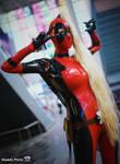 Lady Deadpool... hot chick!