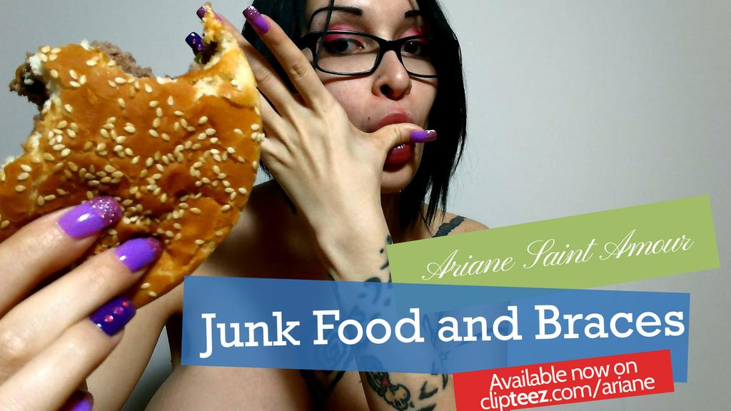 Junk Food and Braces by Ariane-Saint-Amour
