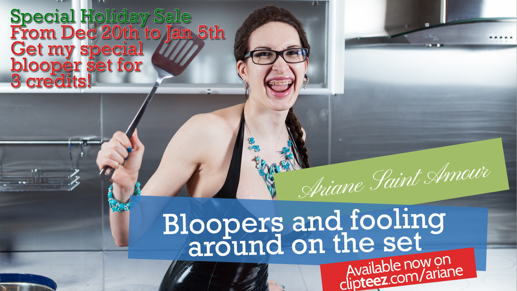 Bloopers by Ariane-Saint-Amour
