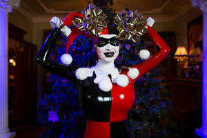 Harley Quinn Christmas part 2 by Ariane-Saint-Amour