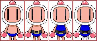 Bomberman Gets Dressed