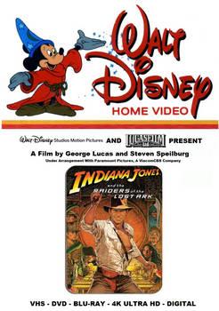 Indiana Jones RotLA - VHS Retro Box Cover